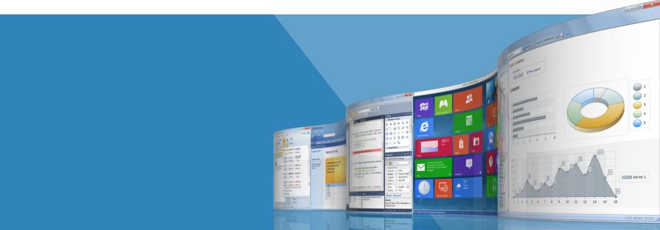 Advanced, Modern, Customizable GUI.