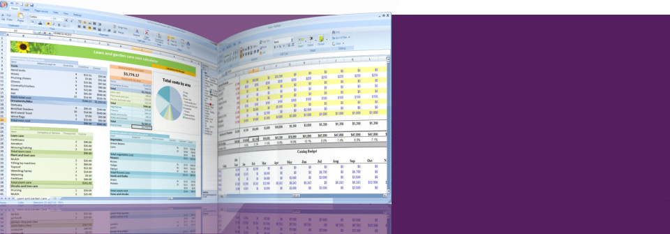 Excel Compatible Spreadsheet.