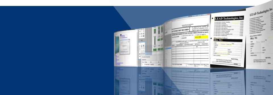 Comprehensive Document Imaging.