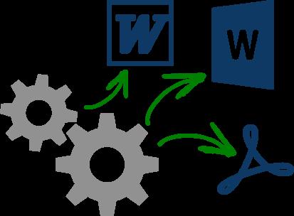 Microsoft Word互換のファイル形式