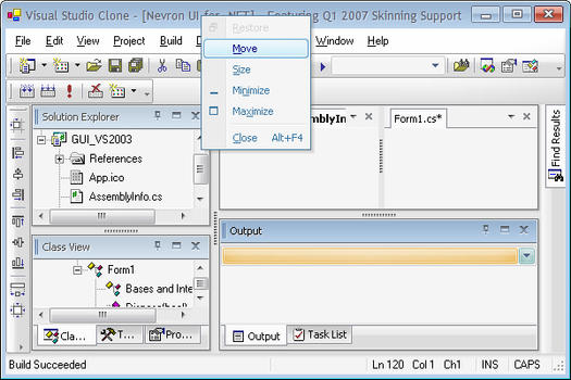 Nevron User Interface Suite for  NET