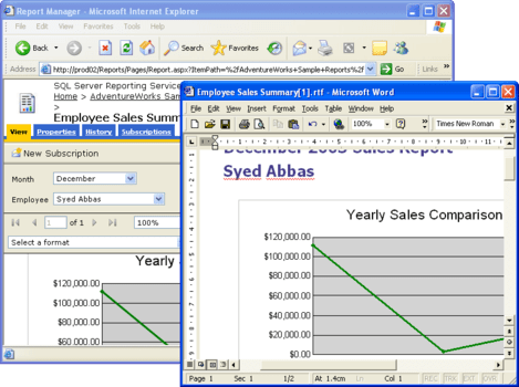 Aspose Total for Reporting Services (SSRS)