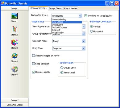 Janus UI Controls for  NET