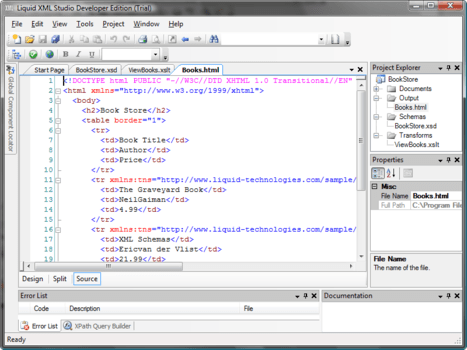 Liquid XML Studio Developer Pro
