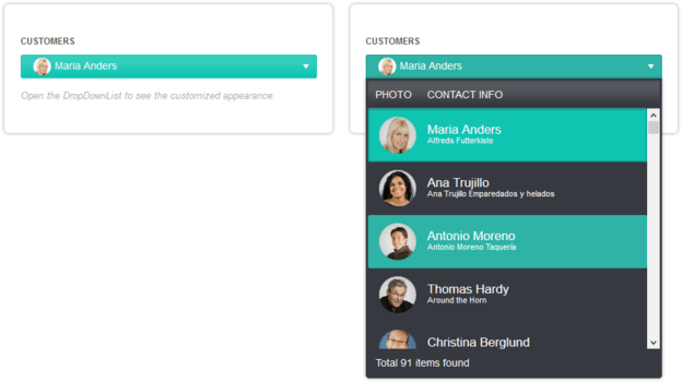 Kendo UI + Telerik UI for PHP