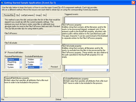 Xceed Zip for ActiveX