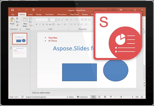 Aspose.Slides for Java (英語版)