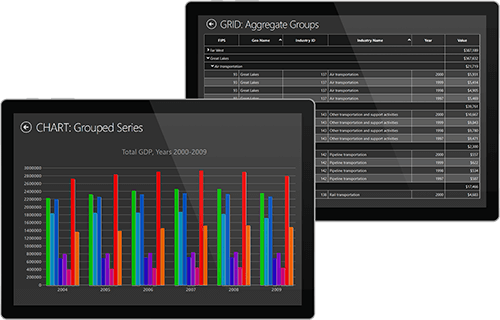 ComponentOne Studio LightSwitch(英語版)