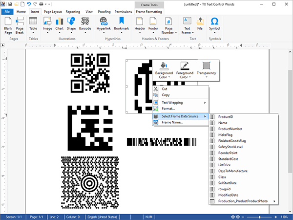 TX Barcode .NET for Windows Forms(英語版)