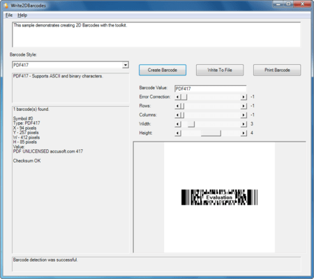 Barcode Xpress ActiveX について