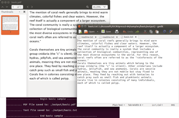 OCR Xpress for Linux
