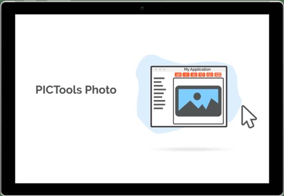 Capture d'écran de PICTools Photo