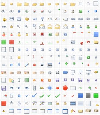Actipro Icons Elements(英語版) のスクリーンショット