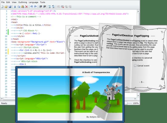 Screenshot von Actipro Silverlight Studio