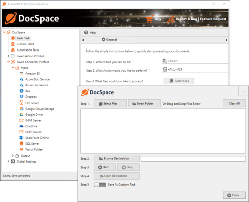 Screenshot of ActivePDF DocSpace