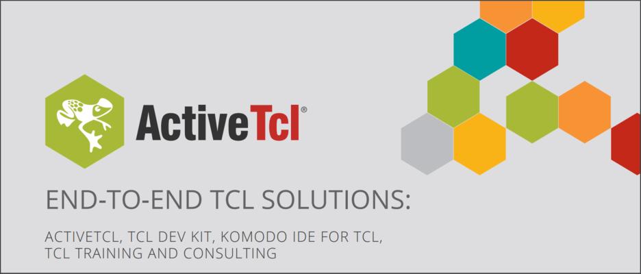 Screenshot of ActiveTcl