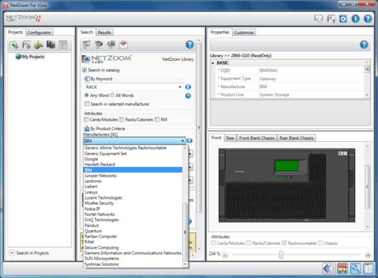 Screenshot of NetZoom