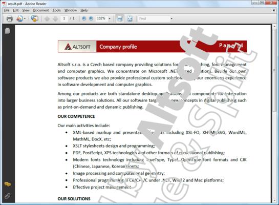 Screenshot of MergeSplit PDF