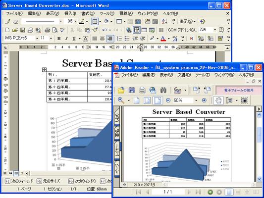 Server Based Converter(日本語版) のスクリーンショット