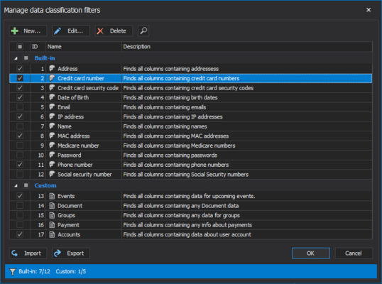 Screenshot of ApexSQL Mask