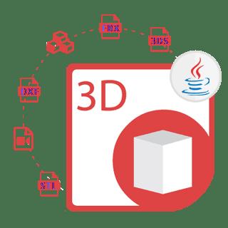 Captura de tela do Aspose.3D for Java