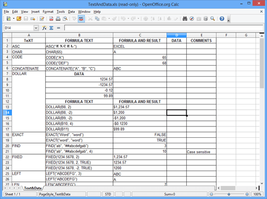 Screenshot of Aspose.Cells Product Family