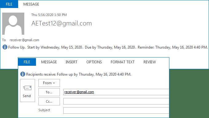 Captura de tela do Aspose.Email for Android via Xamarin