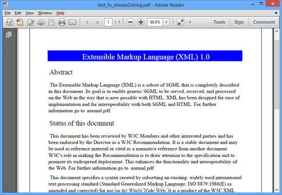 Screenshot of Aspose.PDF Product Family