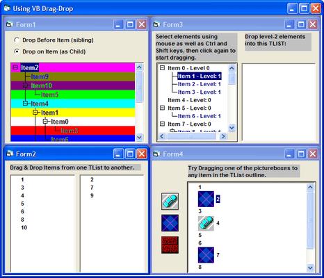 TList Pro (英語版) のスクリーンショット