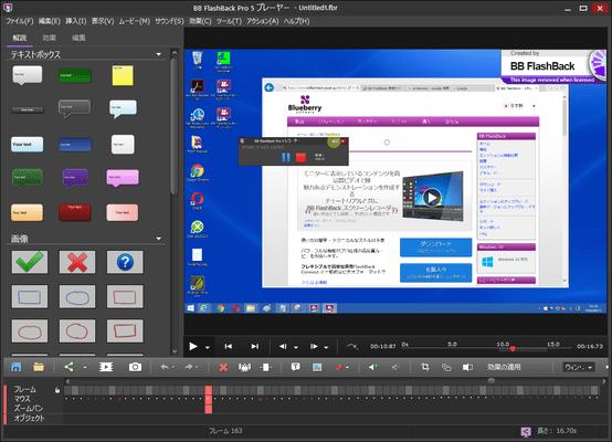 FlashBack Pro (日本語版) のスクリーンショット