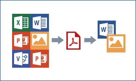 SharePoint PDF Converter 스크린샷