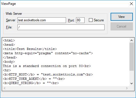 SocketWrench(英語版) のスクリーンショット