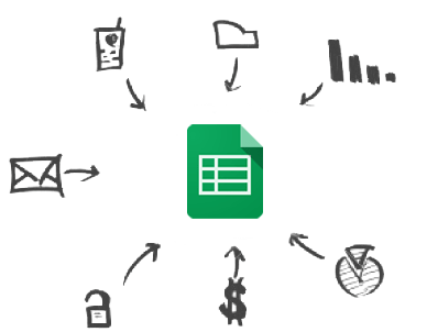 Screenshot of Google Sheets Drivers