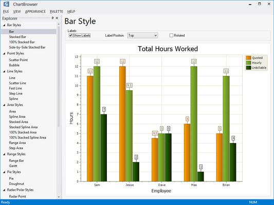 Captura de pantalla de Codejock Toolkit Pro