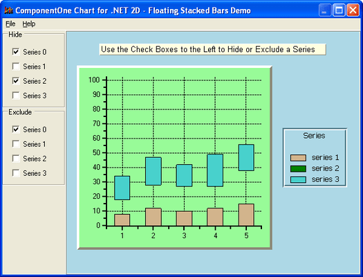 Screenshot of ComponentOne Chart for WinForms