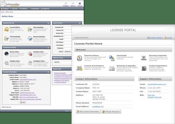 Screenshot of SOLO Server