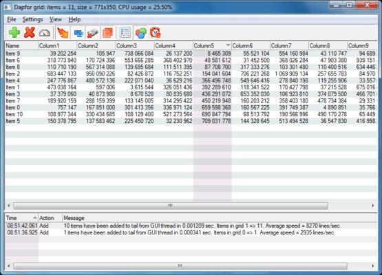 Dapfor MFC Grid(英語版) のスクリーンショット