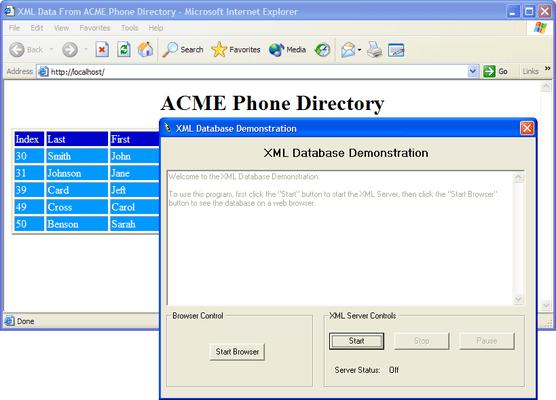 Screenshot of PowerTCP WebServer for ActiveX