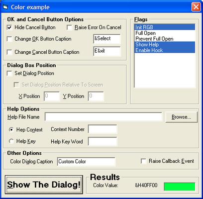 Screenshot of Desaware ActiveX Gallimaufry