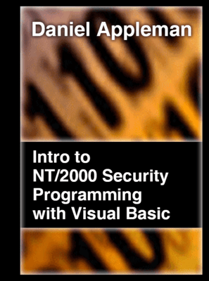 Screenshot of Introduction to NT/2000 Security Programming with Visual Basic