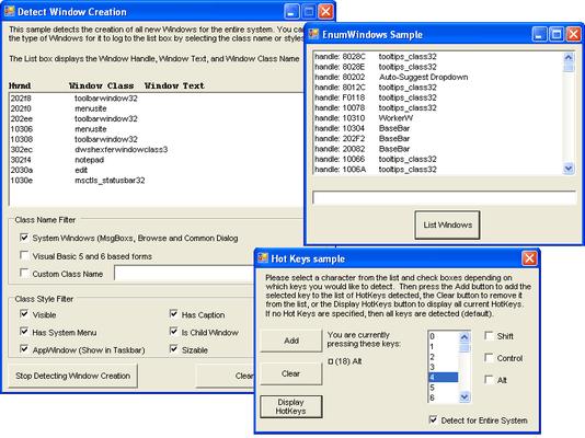 Screenshot of Desaware Universal COM