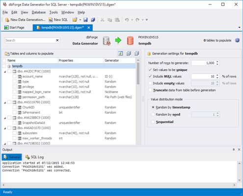 Screenshot of dbForge Developer Bundle for SQL Server