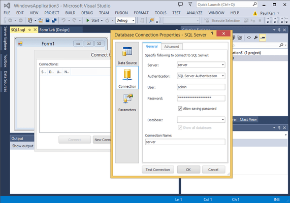 Screenshot of dbForge Fusion for SQL Server