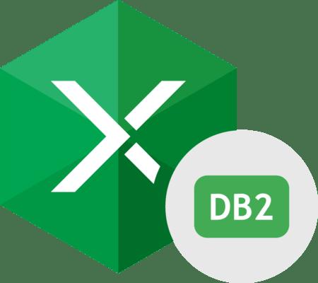 Capture d'écran de Devart Excel Add-in for DB2