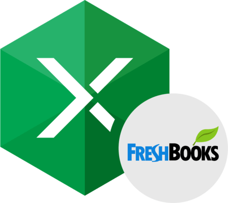 Devart Excel Add-in for FreshBooks 的螢幕截圖