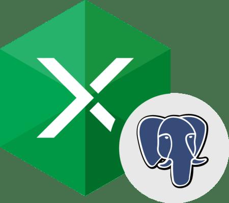 Devart Excel Add-in for PostgreSQL 的螢幕截圖