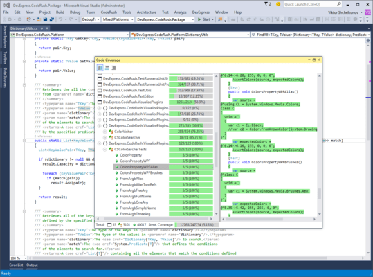 Screenshot von CodeRush Ultimate