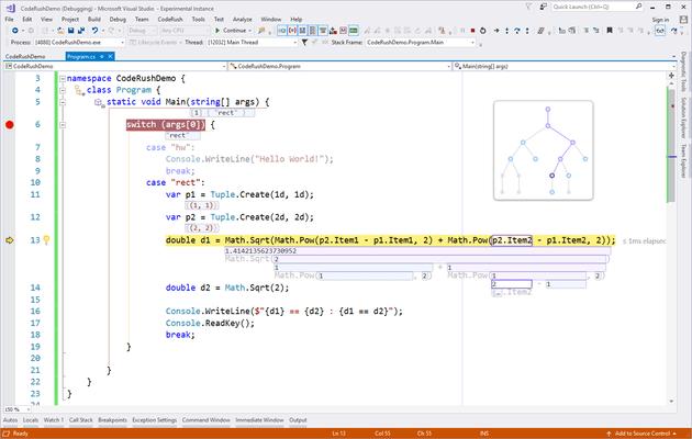 CodeRush 的螢幕截圖