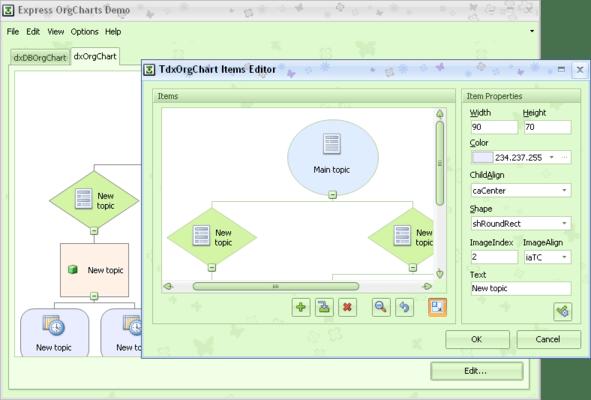 ExpressOrgChart Suite (英語版) のスクリーンショット