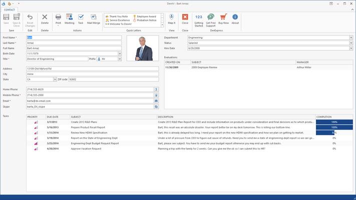 Screenshot of Xtra Editors Library